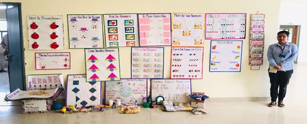 Exhibition of Teaching learning Material Prepared by Teacher Trainee's