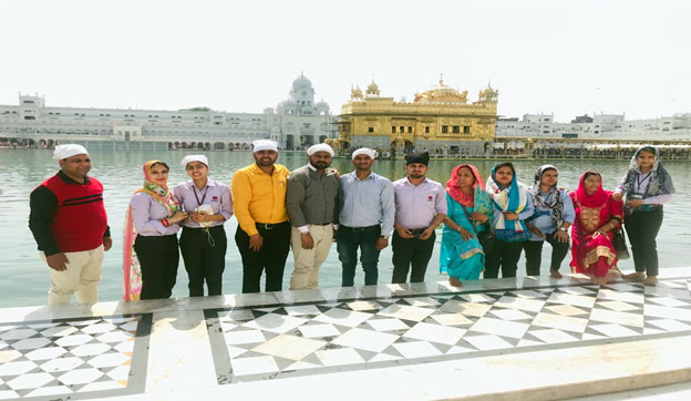 Educational Trip to Pingalwara Special School and Golden Temple, Amritsar.