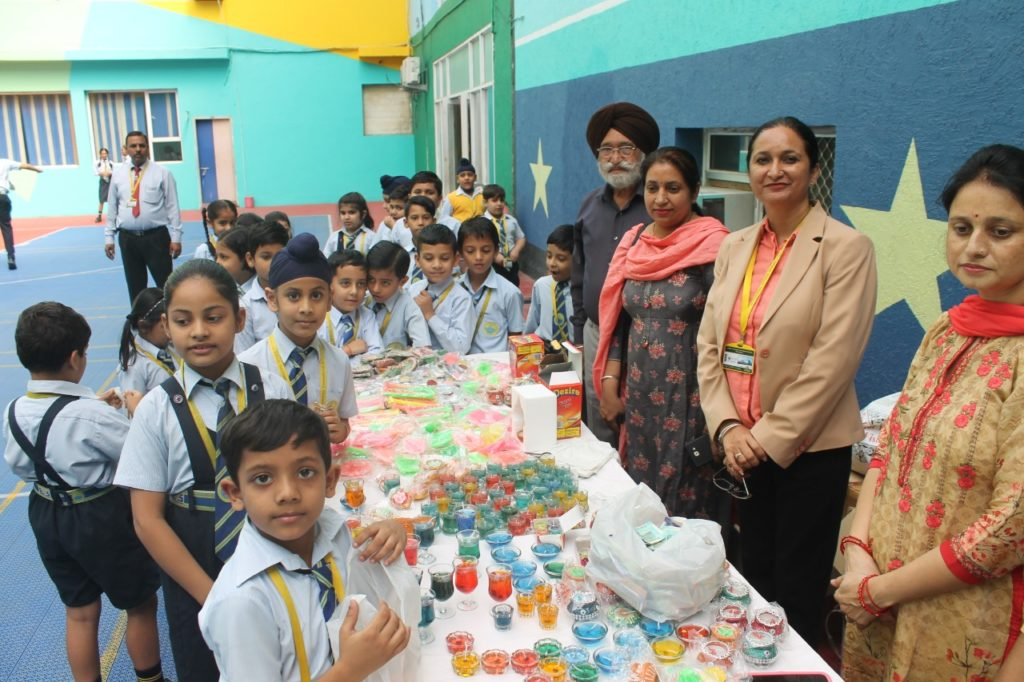 Candle Exhibition at GEMS Cambridge School, Hoshiarpur