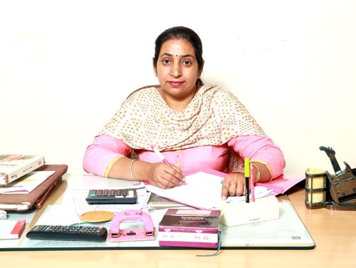 Principal Mrs. Shally Sharma