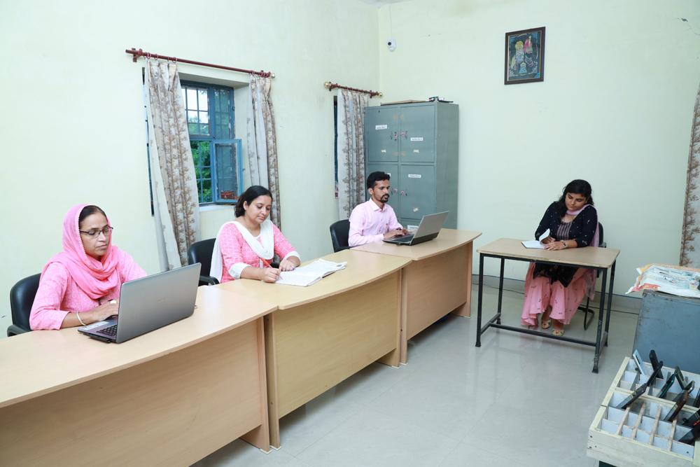 Staff Room of college