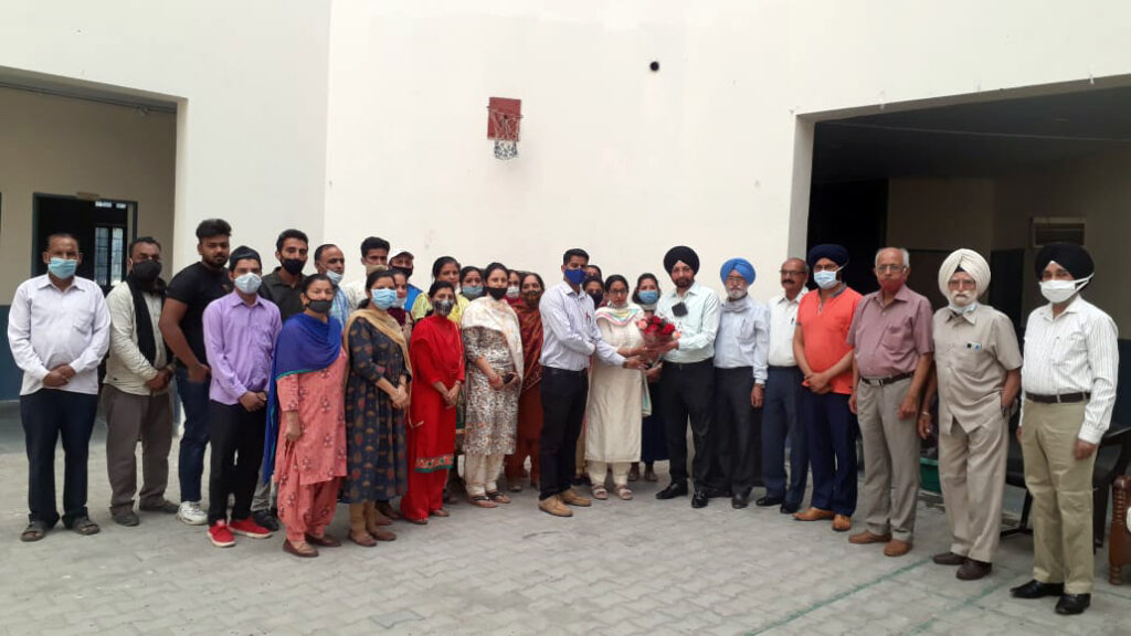 Welcome Party of New President Mr. Taranjit Singh C.A